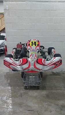 Tony Kart Racer 401 fitted with Ogden sealed Minimax engine. Super One