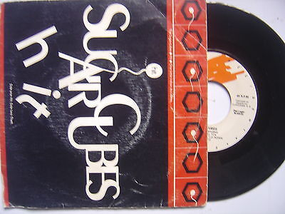 SUGARCUBES hit / theft SPANISH 45 GRABACIONES ACCIDENTALES 1992