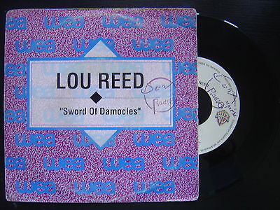 LOU REED sword of damocles SPANISH PROMOTIONAL 45 WARNER 1992