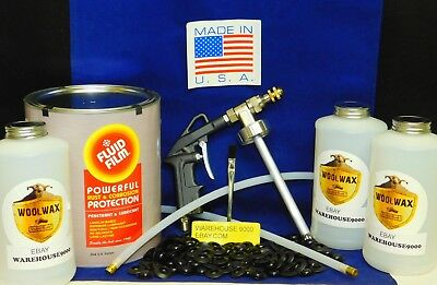 "Fluid Film 1 Gal Rust Proof ""Pro"" Gun Kit w/Fluid 200 Rust Plugs Multi Drill Bit"