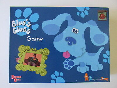 Blue's Clues Complete Board Game 1998 University Games