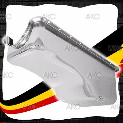Chrome Finish Steel Stock Capacity Oil Pan For 68-78 Ford Big Block 429 460