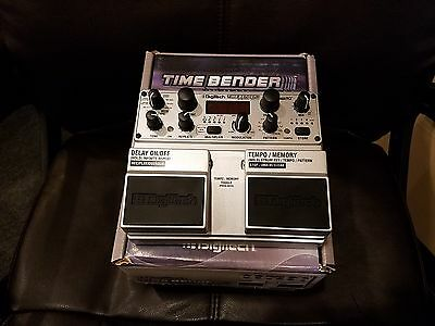 """DigiTech Timebender Delay Pedal + Looper """"NO Adapter/Power Cable"""" New Old Stock"""