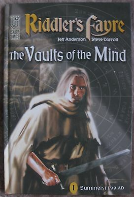 RIDDLER'S FAYRE #1 -THE VAULTS OF THE MIND - Steve Carroll & Jeff Anderson / NEW