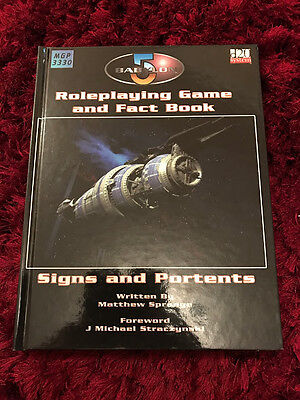 Babylon 5 Roleplaying Game - Core Rulebook - 2003 - D20 System - Mongoose