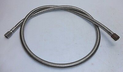 "Ultraflex 5ft Stainless Steel Oxygen Cryogenic Transfer Hose 5/32"" ID 5/8"" OD"