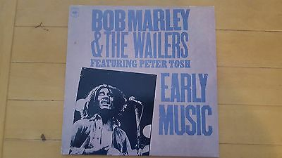 Bob Marley and Peter Tosh - Early Music LP 1977