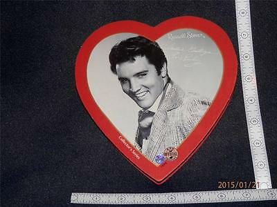 Elvis Presley - Collector Series - Russell Stover  Heart Container