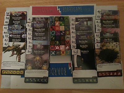 Complete Common Set of 32 cards and 32 dice YU-GI-OH! Dice Masters