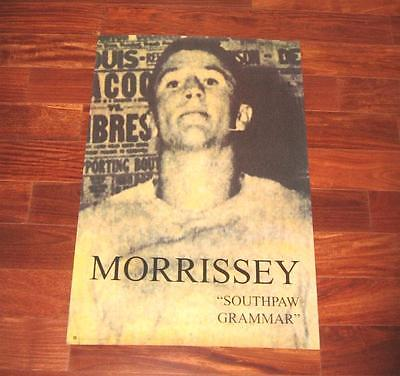 Morrissey SOUTHPAW GRAMMAR Orig 1996 US Record Company Promo Poster Excellent