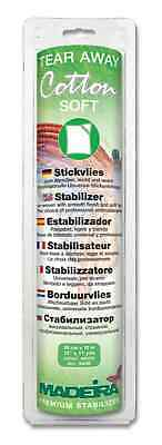 Madeira Cotton Soft Tearaway Stabiliser 30cm x 10m