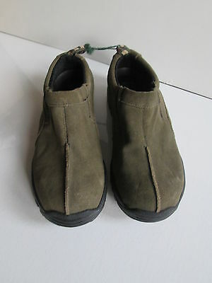 Gardener's Supply Leather Garden Shoes Clogs Boots Muck Women's Size 7 M NEW