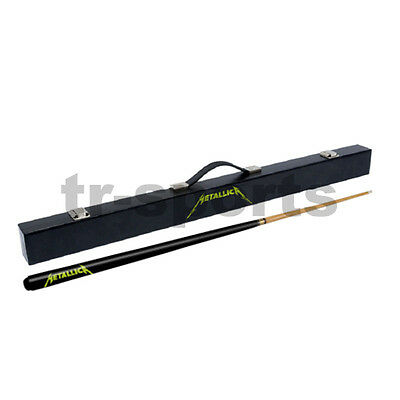 License 1x Metallica Pool Cue & Hard Case For Birthday Xmas Father's Day Gift