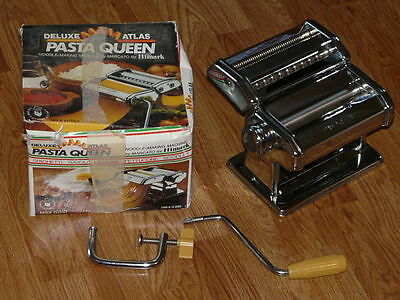 Vintage Deluxe Atlas PASTA QUEEN Model 15-4590 - Made in Italy