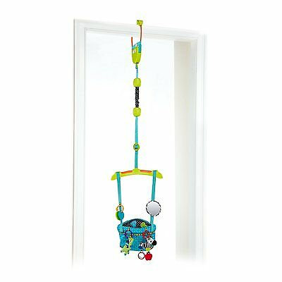 Bright Starts Bounce 'N Spring Deluxe Door Jumper, Blue