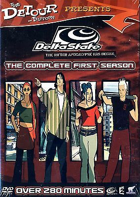 NEW 2DVD BOX SET // Delta State: The Complete First Season / DETOUR ON TELATOON