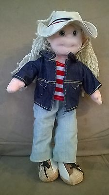 TY Beanie Bopper LUCKY LUCY 13 inch  Stuffed Plush Doll 2002