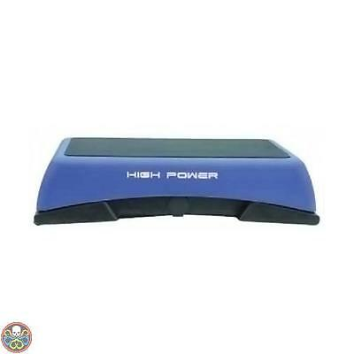 High Power Blu Hpsp4001 Aerobic Stepper Regolabile 5 Livelli Nuovo