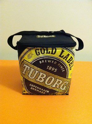 TUBORG Gold Label Beer Cooler Brewed Since 1895 Copenhagen Denmark -