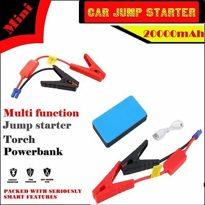 Unique 12V 20000mAh Car Jump Starter Pack Booster Charger Battery Power Bank F0