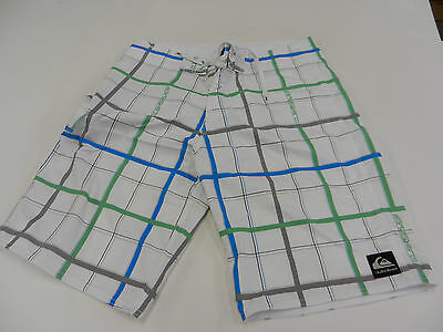 Used Quiksilver board shorts White Size 33