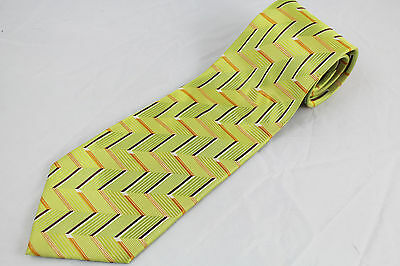 Pierre Cardin Wider style Retro Tie Vintage Lime Green