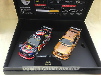 Scalextric C3815A Scalextric Craig Lowndes Twin Pack 100 Wins Slot Car Set