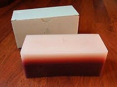 Partylite SPICED VANILLA/MULBERRY BRICK  3wick candle NIB