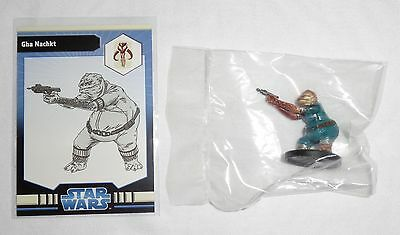 Star Wars Miniatures - GHA NACHKT 35/40 RARE with Card The Clone Wars NEW SEALED