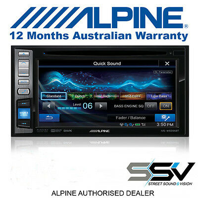 "Alpine IVE-W554ABT 6.1"" DVD/CD/USB Mobile Media Station with Bluetooth Ex Demo"