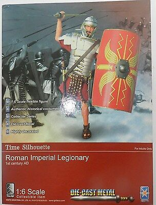 1/6 Scale Ignite Roman  Imperial Legionary With Metal Helmet And Sword. Boxed