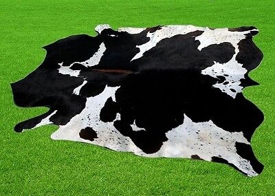 """New Cowhide Rugs Area Cow Skin Leather 22.45 sq.feet (61""""x53"""") Cow hide MB-9408"""