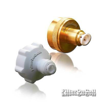 """Garden Laundry 3/4"""" female hose adapter 1/4"""" quick connect RO DI Water System"""