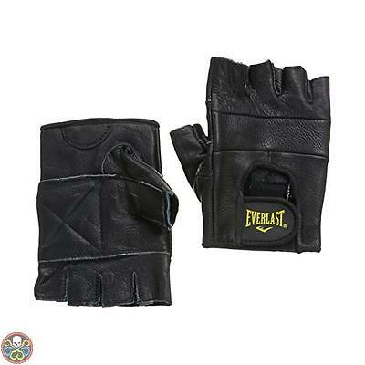 Everlast Tg: Medium Nero Leather All Competition Guantino Fitness M Nuovo