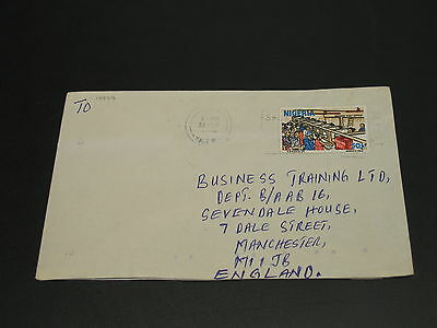 Nigeria airmail cover to uk *14979