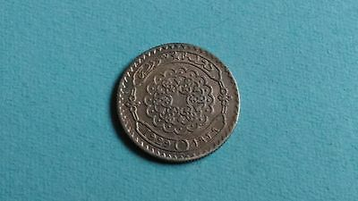 Syrie , 10 Piastres  argent 1929