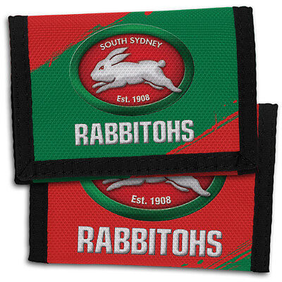 South Sydney Rabbitohs NRL Sports Wallet *NRL OFFICIAL MERCHANDISE*