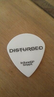 DISTURBED GUITAR PICK GENUINE STAGE USED ! Avenged sevenfold 2017 tour