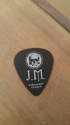 DISTURBED GUITAR PICK GENUINE STAGE USED ! Avenged sevenfold 2017 tour!