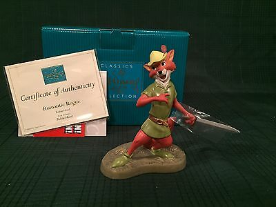 """WDCC Robin Hood """"Romantic Rogue"""" New in Box"""
