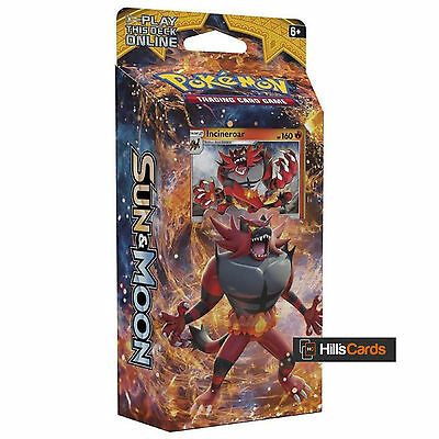 Pokemon Sun & Moon Roaring Heat - Incineroar Theme Deck: 60 Trading Cards - SM1