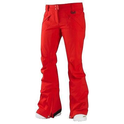 Westbeach Women's Kamtow Heli Red Trousers. Size S. RRP £110.