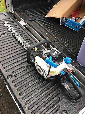 Mac Allister 24.5cc Petrol Hedge Trimmer Cutter Hardly Used