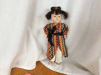 """10"""" Oriental Composition Doll"""