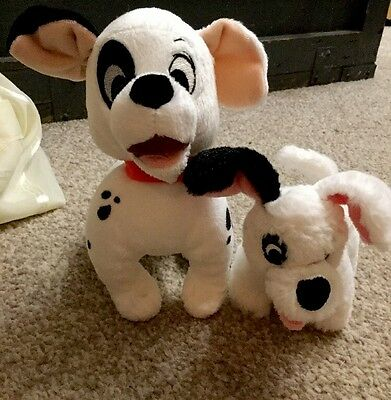 """Disney 101 Dalmatians Cuddly Toy Patch Approx 8"""" Long And 7"""" Tall From Disney St"""