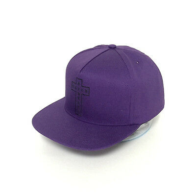 7736dbb4061 SUPREME Black Sabbath Logo SnapBack Purple 2016SS Cross 5-Panel 100%  AUTHENTIC