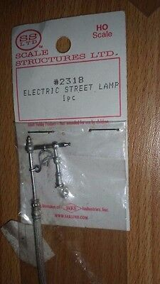 HO Scale Scaled Structures Electric Street Lamp 2318 NIP