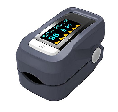 GHB Pulse Oximeter Sp02 Blood Oxygen Saturation Portable Finger Meter Monitor