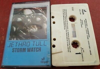 Jethro Tull - Stormwatch - Tape Cassette Album Free Postage