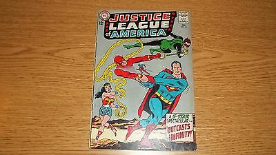 "Justice League Dc Comics 1960 Series #25 ""outcasts Of Infinity"""